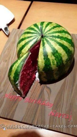 Cool Watermelon Cake