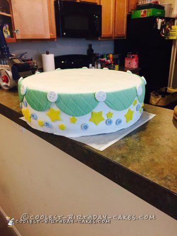 Last Minute Baby Shower Cake