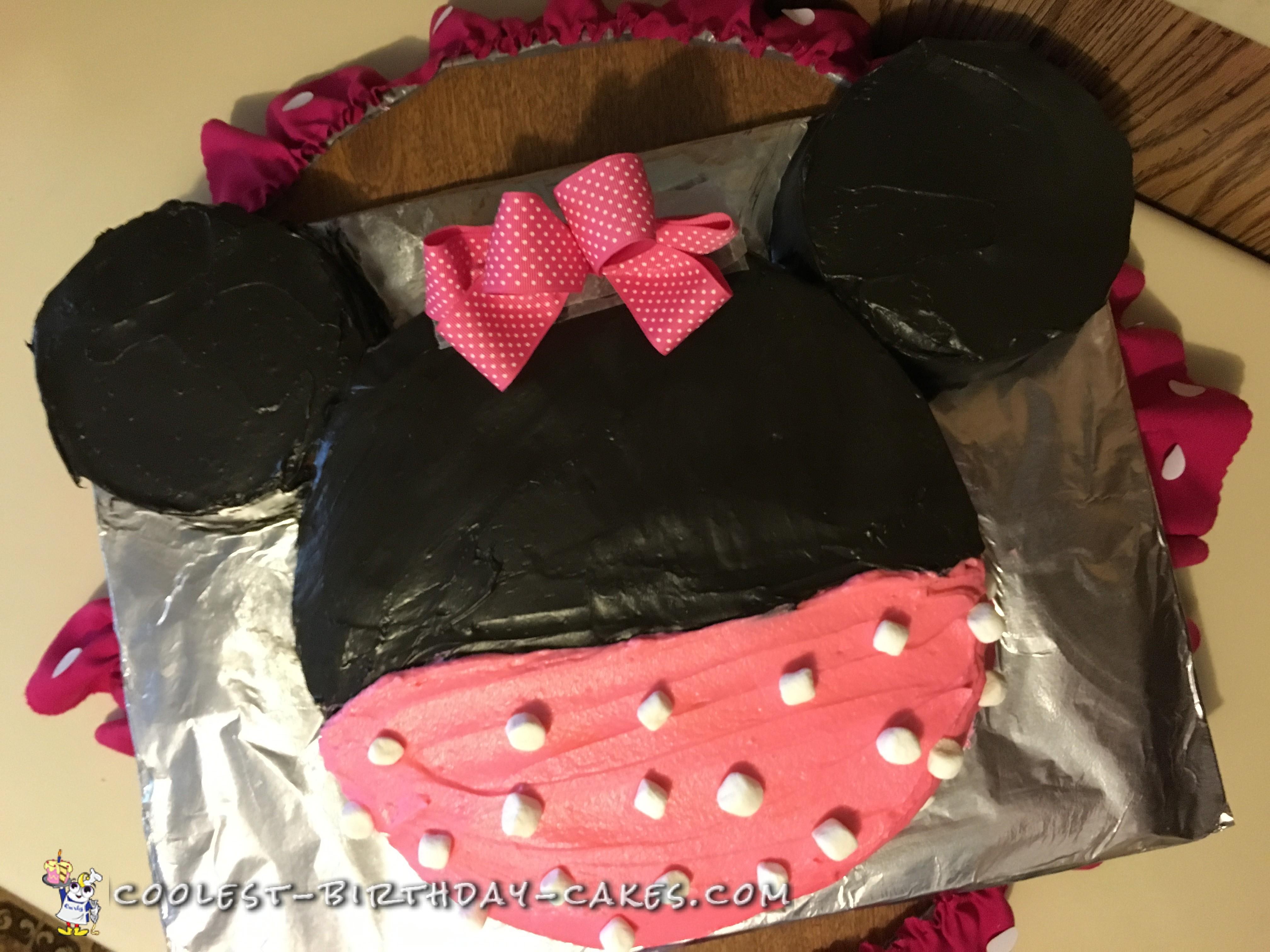 How to Make a Minnie Mouse Cake How to Make a Minnie Mouse Cake new pics