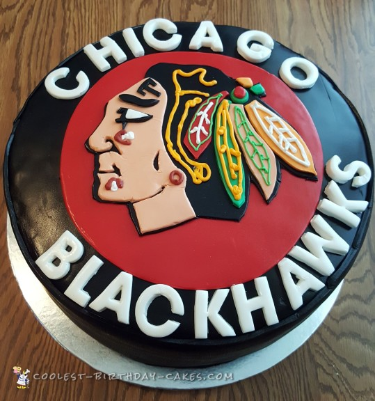 Cool Blackhawk's Hockey Puck