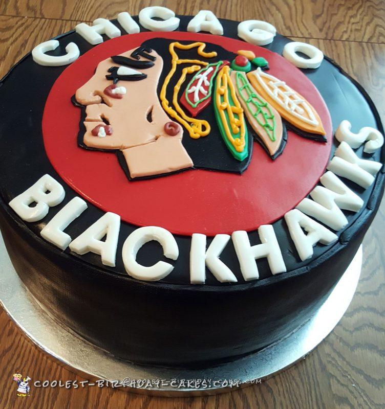 Cool Blackhawk's Hockey Puck