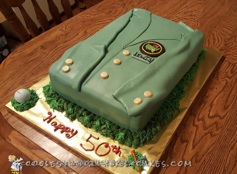 Coolest Masters Jacket Cake