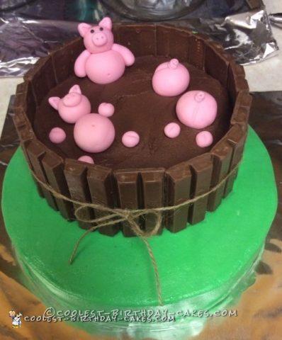 Terrific Awesome Farm Animal Cake Funny Birthday Cards Online Alyptdamsfinfo