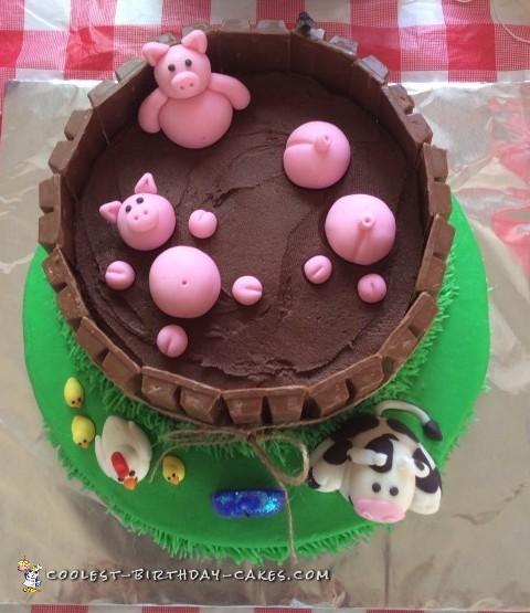 How To Make Pig Pen Cake