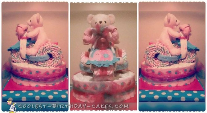 Coolest Diaper Cake in the World!