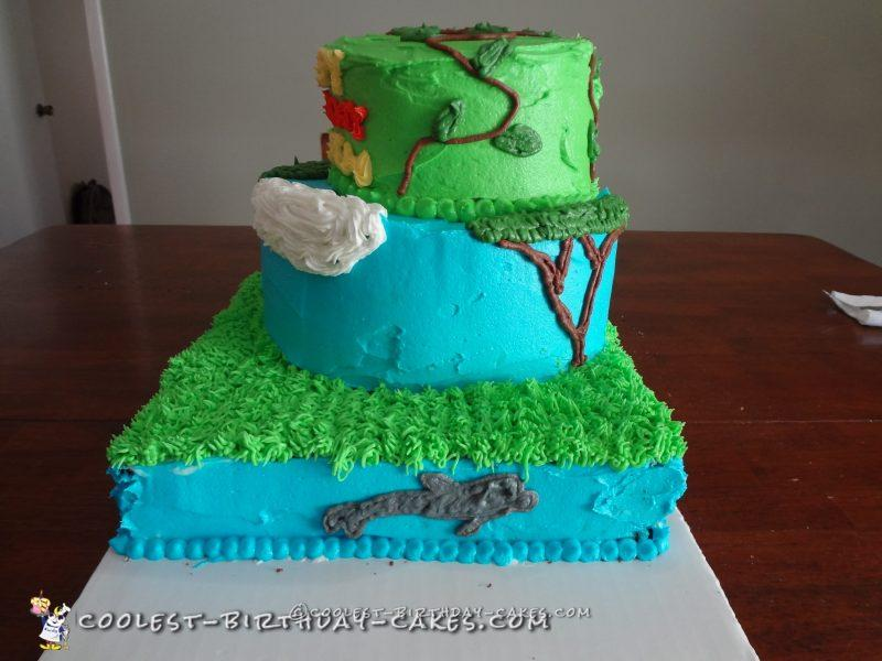 Cool Wild Kratts Cake