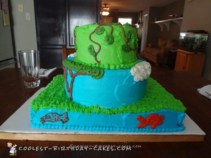 Cool Wild Kratts Cake