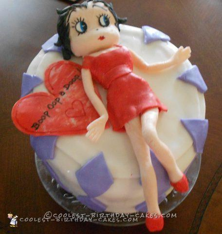 Cool Betty Boop Cake