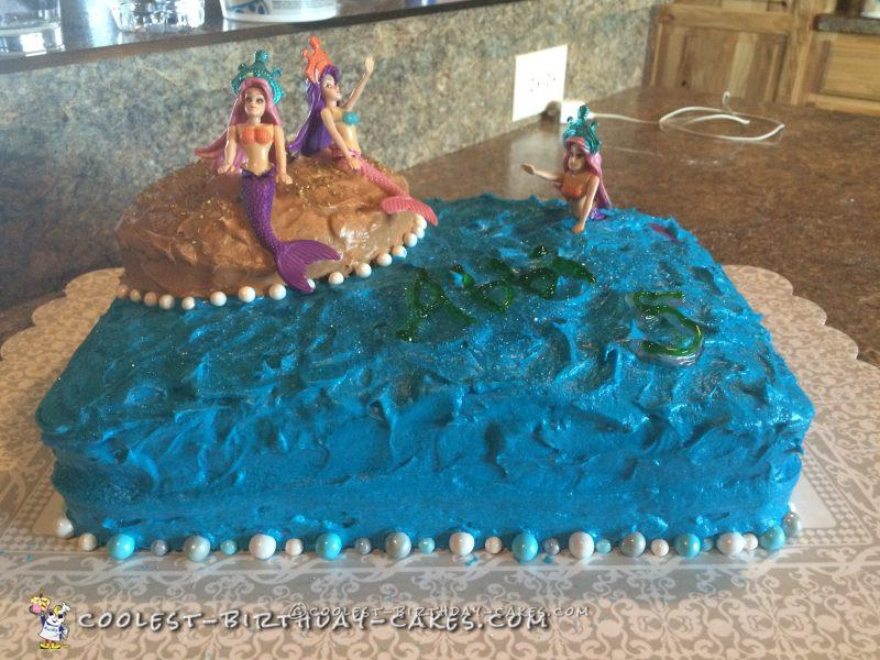 Cool Mermaid Cake