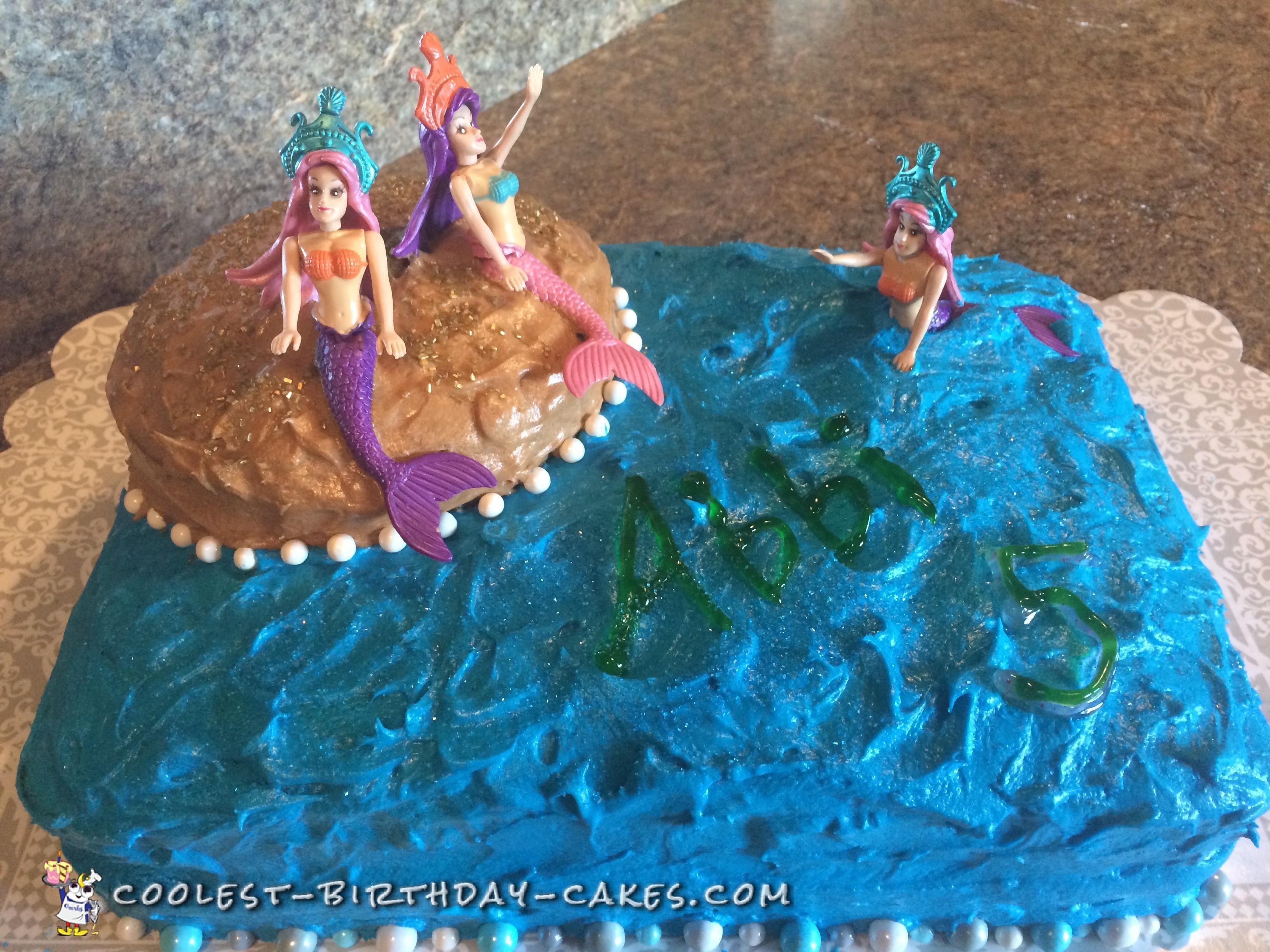 Cool Mermaid Cake