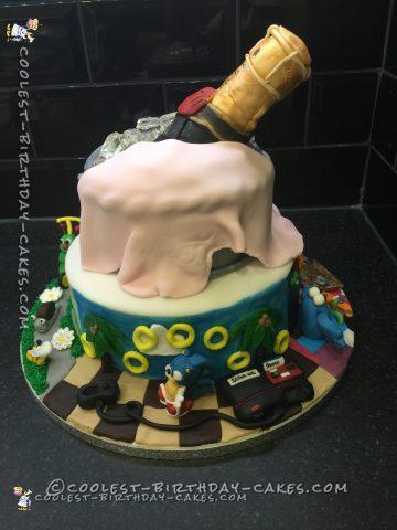 30th Birthday Childhood Memories Cake