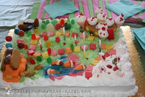 Cool Candyland Cake