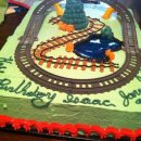 Cool Moving Thomas the Tank Engine Birthday Cake