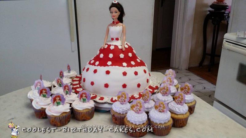 Classic Homemade Victorian Doll Cake