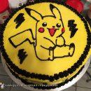 Cool DIY Pikachu Birthday Cake