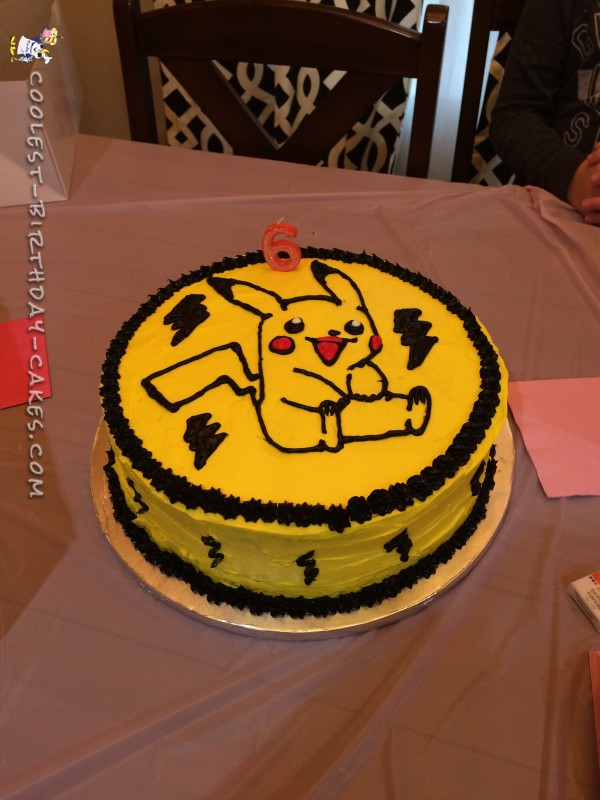 Cool Diy Pikachu Birthday Cake