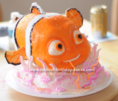 Phenomenal 3D Nemo Birthday Cake Birthday Cards Printable Opercafe Filternl