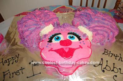Groovy Abby Cadabby Cake Personalised Birthday Cards Veneteletsinfo
