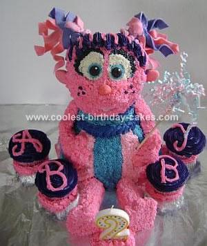 Abby Cadabby Sesame Street Cake