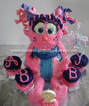 Miraculous Abby Cadabby Sesame Street Cake Personalised Birthday Cards Veneteletsinfo