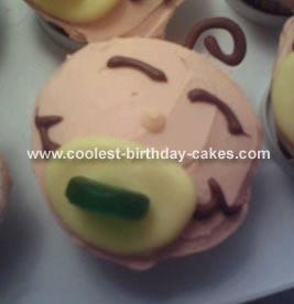 Baby Face Cupcakes