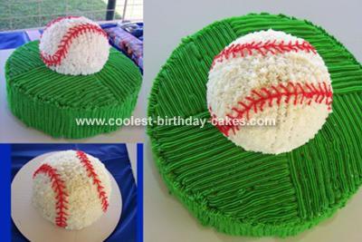 Fantastic Baseball Cake Funny Birthday Cards Online Necthendildamsfinfo