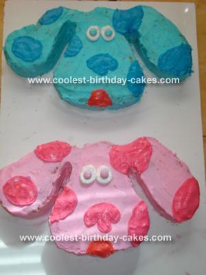 Blues Clues and Megenta Cake