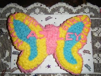 Butterfly Cake for Girls 19th Birthday