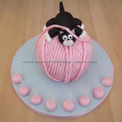 Prime Coolest Ever Cat Cake Funny Birthday Cards Online Elaedamsfinfo