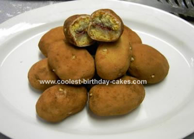 Individual cakes that look like potatoes!