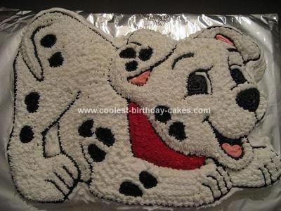 Superb Coolest Homemade 101 Dalmatians Cakes Funny Birthday Cards Online Necthendildamsfinfo
