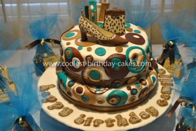 Coolest 18th Fashion Birthday Cake