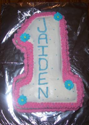 Enjoyable Homemade 1St Birthday Cake With Wilton Cake Pan Personalised Birthday Cards Cominlily Jamesorg