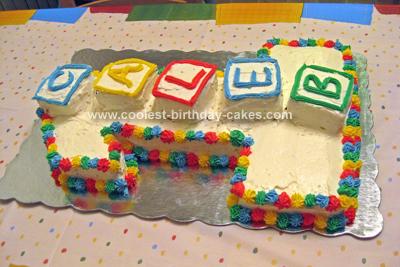 Fabulous Cool Homemade 1St Birthday Cake With Wilton Cake Pan Personalised Birthday Cards Arneslily Jamesorg