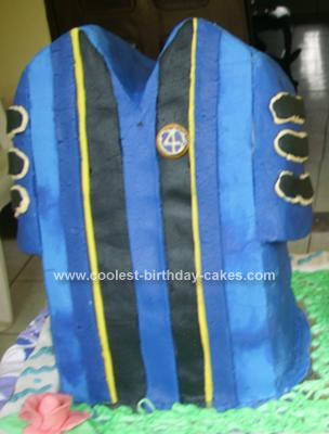 Homemade 1st Graduation Gown Cake