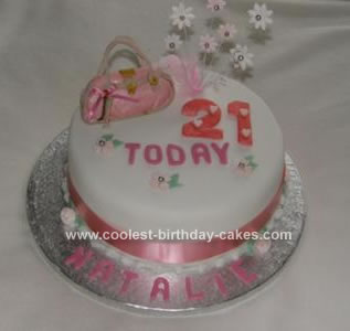Admirable Coolest Homemade 21St Birthday Theme Cakes Personalised Birthday Cards Beptaeletsinfo