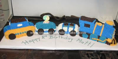 Pleasing Coolest 2Nd Birthday Train Cake Funny Birthday Cards Online Inifodamsfinfo