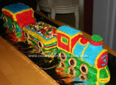 Terrific Coolest 3D Train Birthday Cake Idea Personalised Birthday Cards Arneslily Jamesorg
