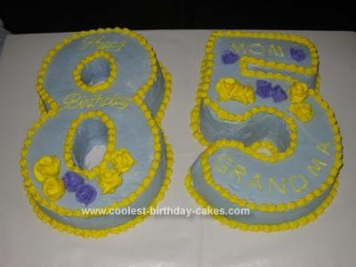 Homemade 85th Birthday