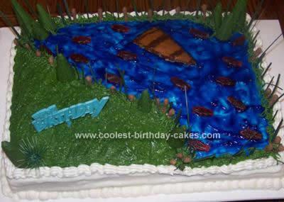 Homemade 97th Birthday Cake Idea