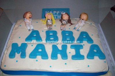 Homemade Abba Cake