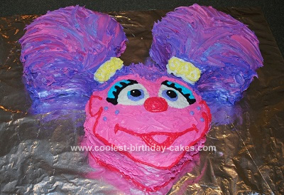 Homemade Abby Cadabby Birthday Cake