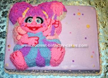 Coolest Homemade Abby Cadabby Cakes