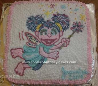 Homemade Abby Cadabby Cake