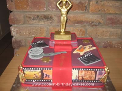 Homemade  Academy Awards Cake