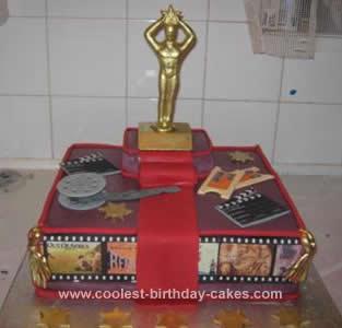 Homemade  Academy Awards Cake