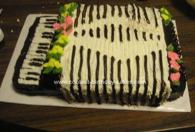 Homemade Accordion cake (made for Weird Al...)