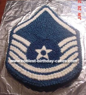 Air Force Emblem Cake