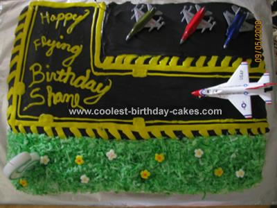 Excellent Coolest Homemade Airplanes Cakes Birthday Cards Printable Trancafe Filternl