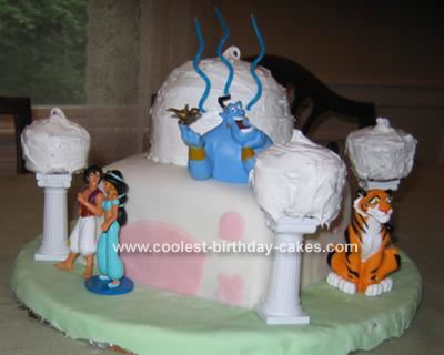 Aladdin's Palace Cake